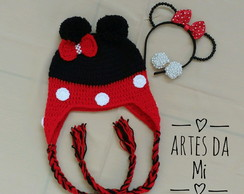 Touca infantil da Minnie