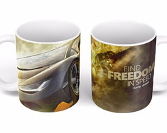 "Caneca ""Freedom and Speed"""