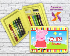 MINI ESTOJO DE PINTURA PEPPA PIG