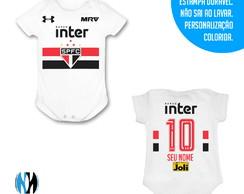 ... Body Infantil - Uniforme do São Paulo b78978fc9694f
