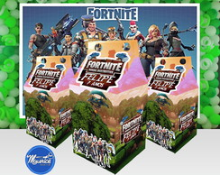 Caixa Milk 3d Fortnite