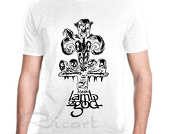 Camiseta Lamb Of God Banda De Rock Groove Metal