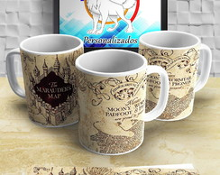 Caneca do Harry Potter Mapa do Maroto