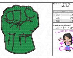 Mao Do Hulk Em Eva Elo7
