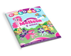 Revistinha de Colorir My Little Pony