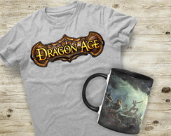 Kit Camiseta + Caneca Dragon Age