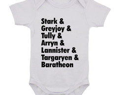Body Infantil Game of Thrones