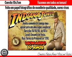 Convite Indiana Jones