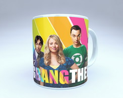 CANECA SÉRIE THE BIG BANG THEORY COLORS