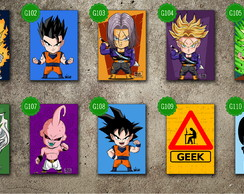 Placas Decorativas:Games e Geek 20x25cm