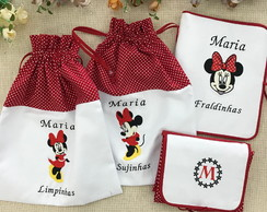 Kit passeio da Minnie