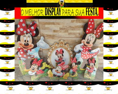 KIT MINNIE VERMELHA -- MDF