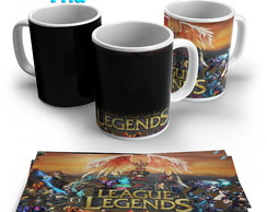 Caneca Mágica - League of Legends