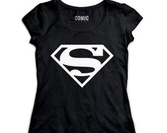 Camiseta feminina Superman cod89