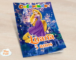 Revista colorir Rapunzel