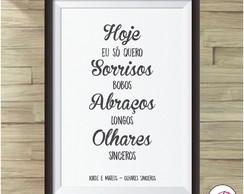Quadro Digital Frases Jorge E Mateus No Elo7 Joyce
