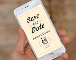 Save the Date Digital - Casamento