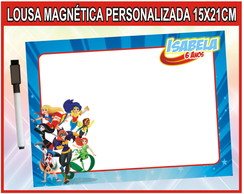 Lousa Mágica Super Hero Girls + BRINDE