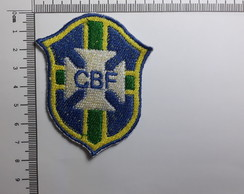 Ref 70002 - Patch Bordado Termo colante - Escudo do Brasil