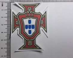 Ref 80011 - Patch Estampado Termo colante - Escudo Portugal