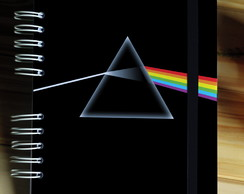 Sketchbook - Dark Side of the moon - Caderno Tamanho 15x21