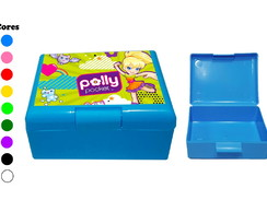 Kit 30 Caixas Box Coloridas Polly Pocket