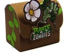 Kit Plants vs Zombies Caixinhas Diversas
