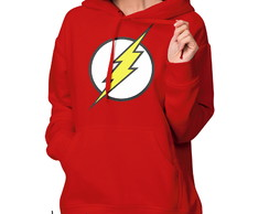 Moletom Flanelado Capuz The Flash
