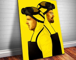 Placa decorativa Breaking Bad 11 Let's Cook-30x20cm