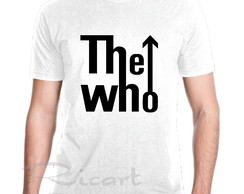 Camiseta The Who Banda De Rock