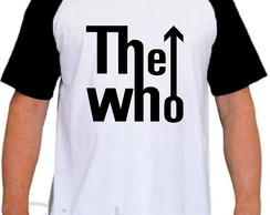 Camiseta Raglan The Who Banda De Rock