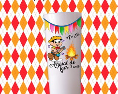COPOS LONG DRINK 350ML -FESTA JUNINA TURMA MONICA