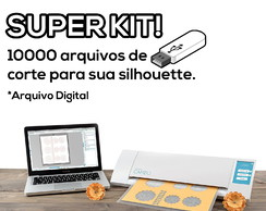 Super Kit 10.000 Arquivos Silhouette Studio