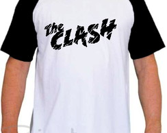 Camiseta Raglan The Clash Banda de Rock