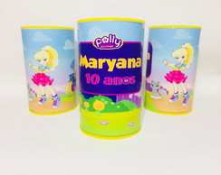 Cofrinho Personalizado Polly Pocket