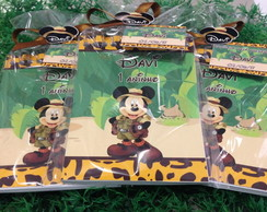 Bloquinhos mickey safari