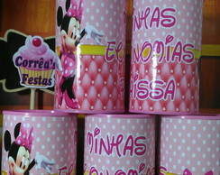 Cofre Minnie Rosa