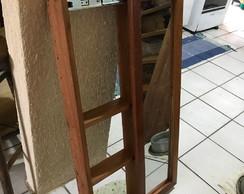 Espelho De Correr Com Prateleiras No Seu Interior