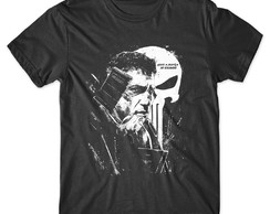 Camiseta O Justiceiro Camisa The Punisher Séries Seriados