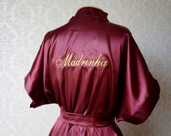 ROBE BORDADO - MARSALA