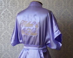 ROBE BORDADO - VIOLET