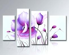 Pinturas Em Telas De Flores Elo7