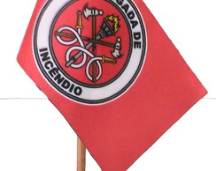 09fb5f6fe0 ... Bandeirinha de Mesa Brigada De Incêndio (Nfe)