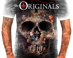 Camisa Camiseta Personalizada Série Vampiro The Originals 3