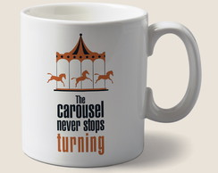 Caneca the carousel never stops turning Greys Anatomy