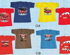 6950ebc38dc76 ... Kit 3 camisetas Carros e amigos varios modelos
