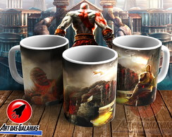 Caneca God of War MOD17