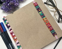 Caderno Pontilhado Bullet Journal Quadrado