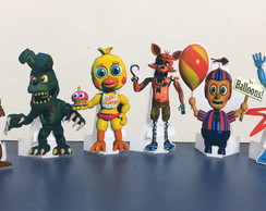 display de mesa de 30 cm , Fnaf