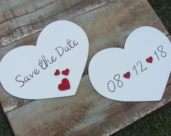 Placa Save the date